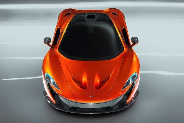 McLaren phát hành hình ảnh chi tiết của P1