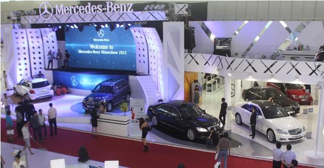 Mercedes gây ấn tượng mạnh tại Vietnam Motor Show 2012