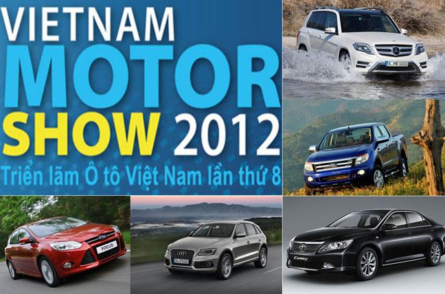 Những mẫu xe không thể bỏ qua tại Vietnam Motor Show 2012