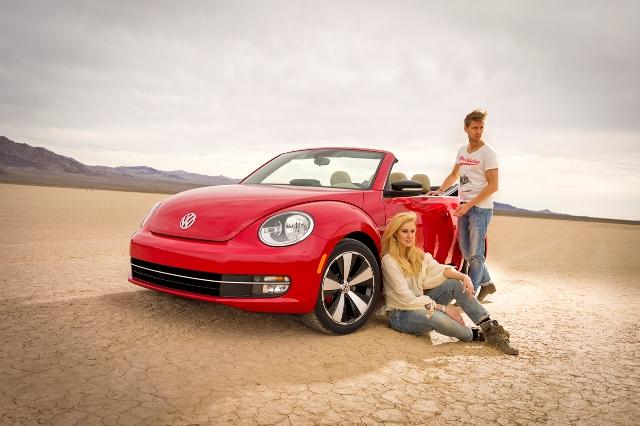 Volkswagen Beetle Convertible 2013 lộ diện