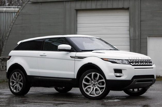 Range Rover Evoque nhận giải xe sang tốt nhất năm 2012