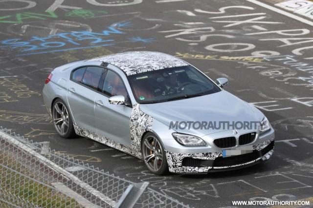 BMW M6 Gran Coupe chạy thử nghiệm