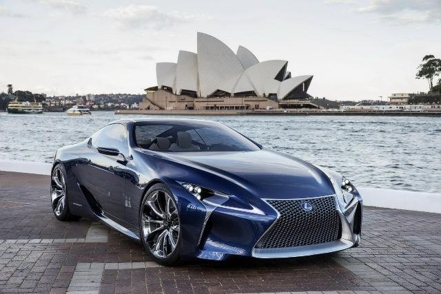Lexus giới thiệu LF-LC Concept bản nâng cấp
