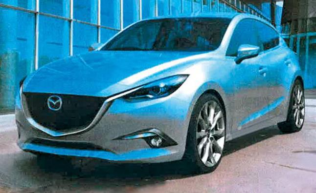 Mazda3 2014 lộ ảnh thực tế