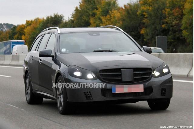 Mercedes E Class Wagon 2014 - đẹp và hiện đại hơn