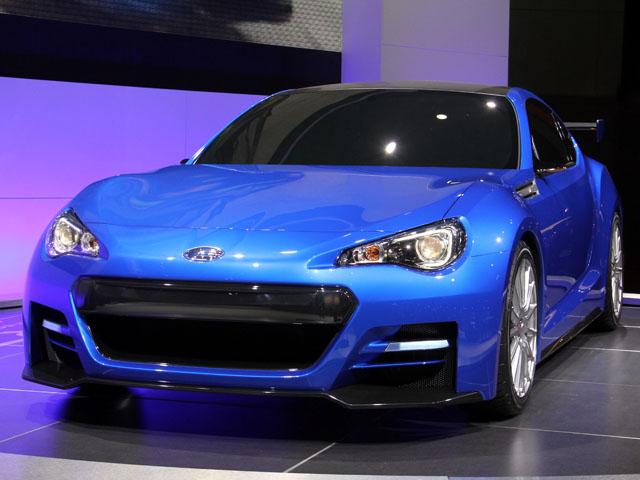 """Subaru BRZ """"khỏe"""" hơn với động cơ tăng áp"""