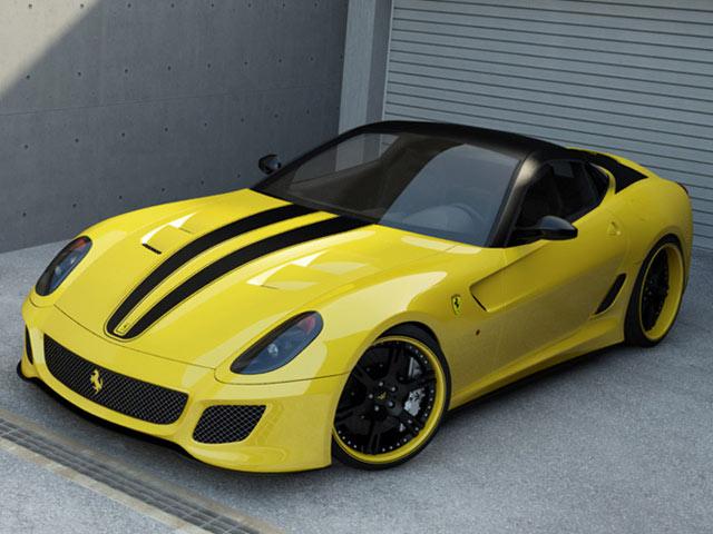 Wheelsandmore độ dáng 5 Siêu xe Ferrari
