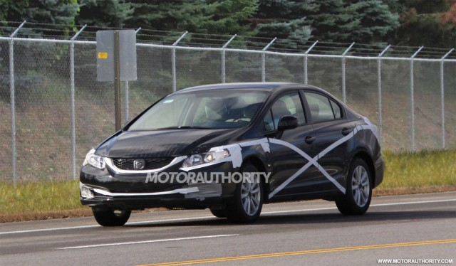 Honda nâng cấp sớm Civic