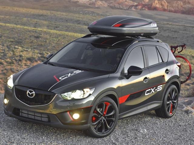 Mazda giới thiệu 3 Concept của CX-5 2013