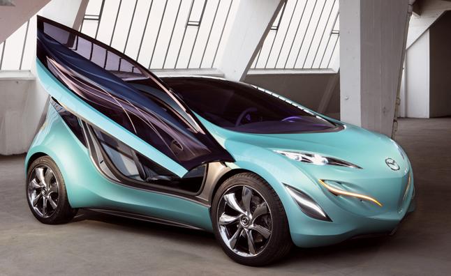 Mazda phát triển supermini cao cấp