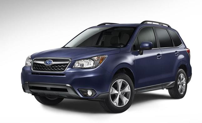 Tiết lộ đầu tiên về Subaru Forester 2014