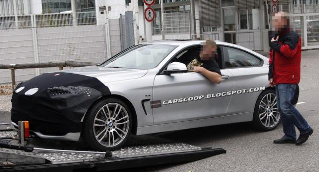BMW 4 Series Coupe lộ hình ảnh thực tế
