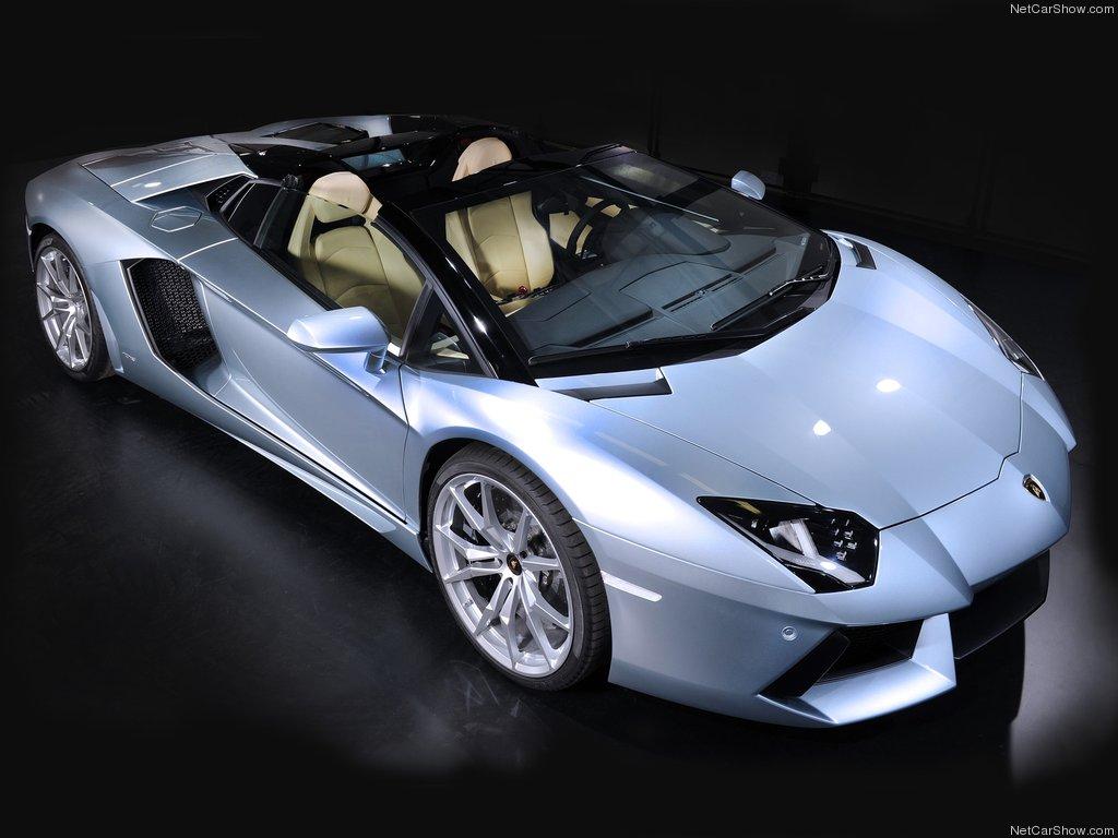Lamborghini Aventador Roadster xuất đầu lộ diện