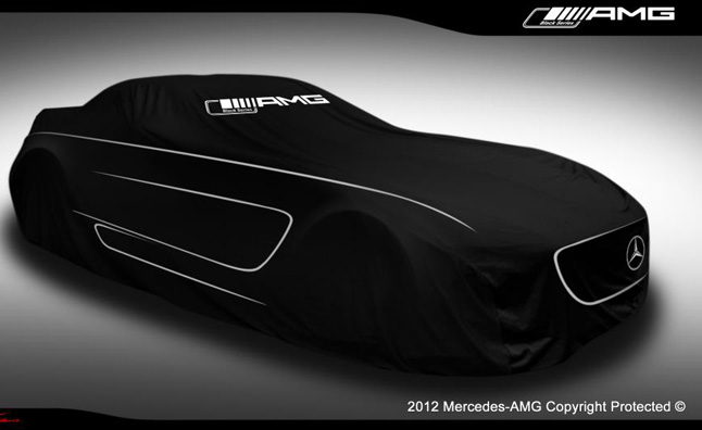Mercedes úp mở về SLS AMG Black Series