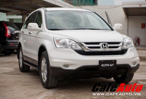 Mua Honda CR-V nhận ngay 65 triệu đồng