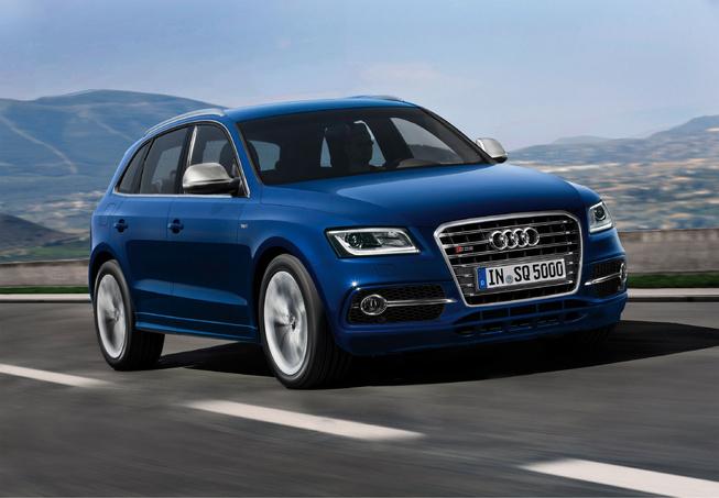 Audi SQ5 sẽ có phiên bản chạy xăng