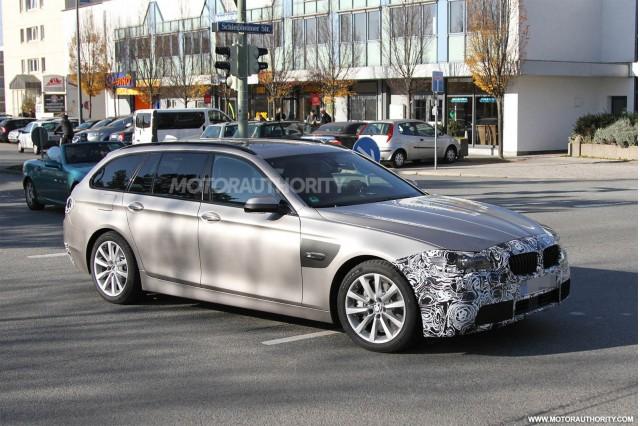 BMW 5-Series Touring lộ ảnh thử nghiệm