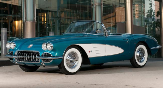 CEO GM bán đấu giá Corvette 1958 để làm từ thiện