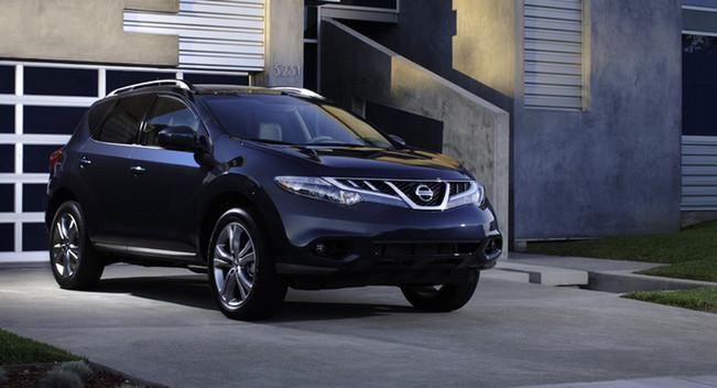 Nissan Murano 2013 sẽ có thêm nhiều tùy chọn