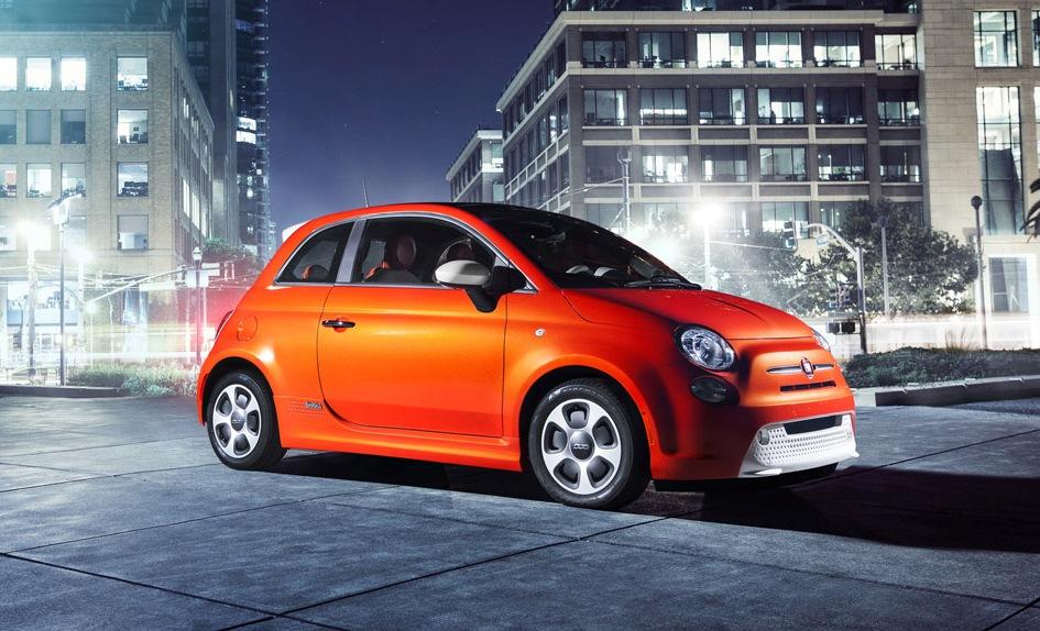 Rò rỉ bức ảnh Fiat 500e