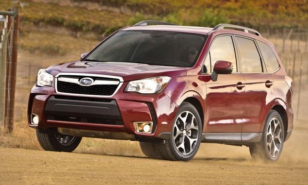 Subaru thiết kế lại Forester 2014