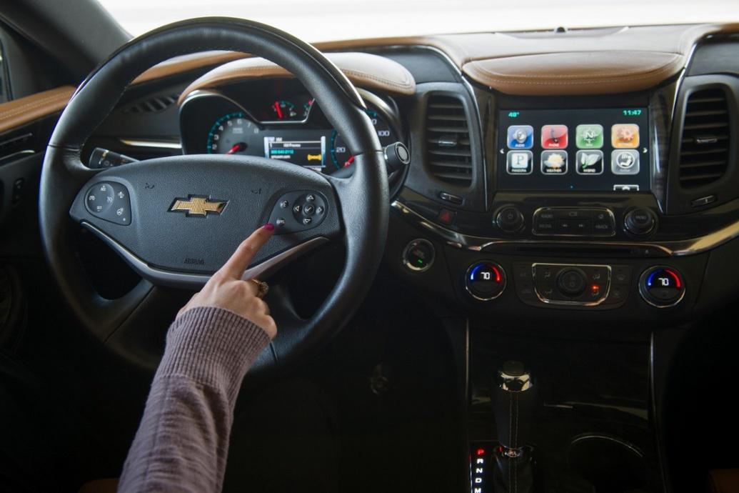 Chevrolet nâng cấp hệ thống MyLink