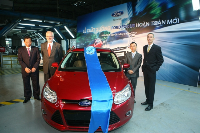 Chiếc Ford Focus đầu tiên xuất xưởng tại Việt Nam