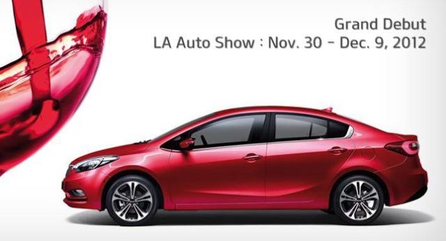 Kia Forte 2014 ra mắt tại Los Angeles Auto Show