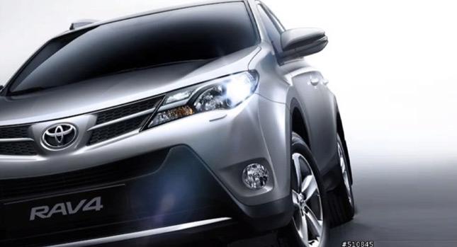 Toyota RAV-4 2013 lộ ảnh trước ngày ra mắt