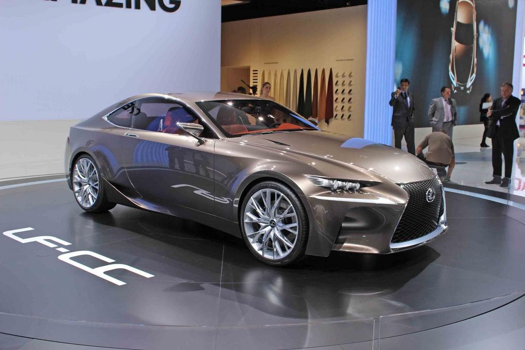 Lexus bắt đầu sản xuất LF-CC