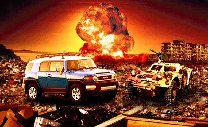 10 mẫu xe giúp bạn sống sót trong ngày tận thế