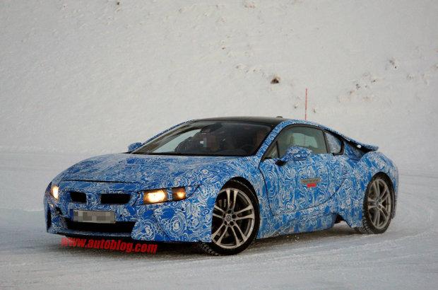 BMW i8 tiếp tục thay đổi