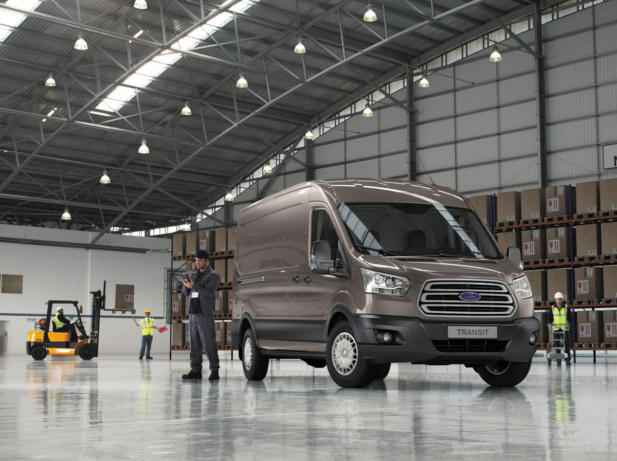 Ford Transit 2014 sẽ có động cơ chạy dầu 3.2 lít