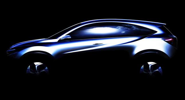 Honda hé lộ hình ảnh mẫu SUV mới