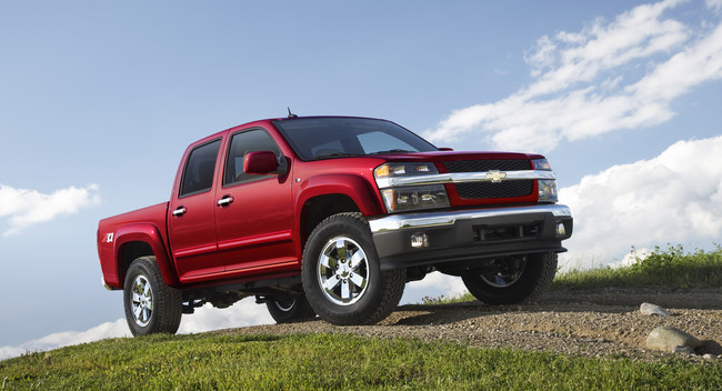 GM thu hồi Chevrolette Colorado, GMC Canyon