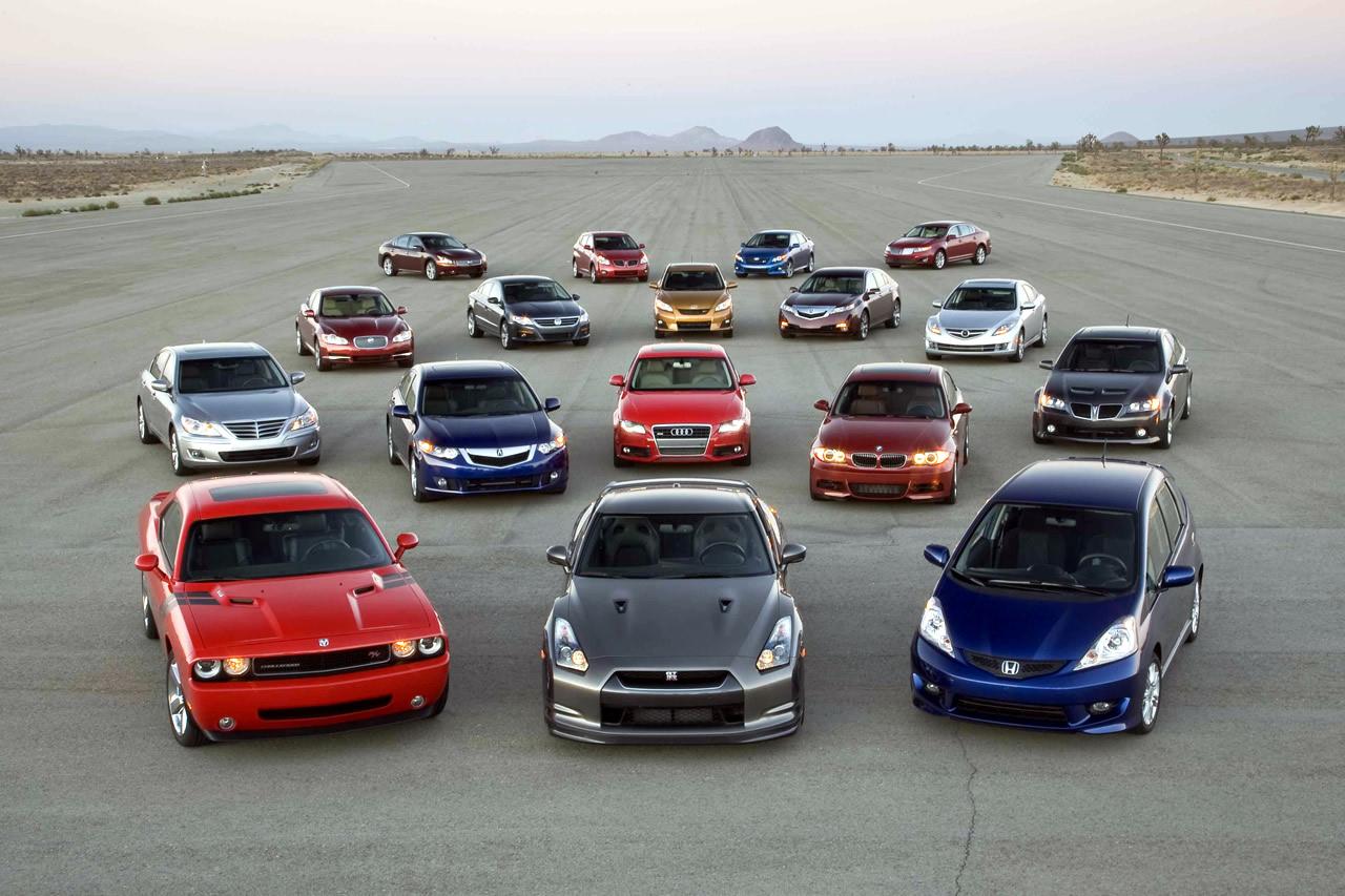 10 chiếc xe tốt nhất năm 2012
