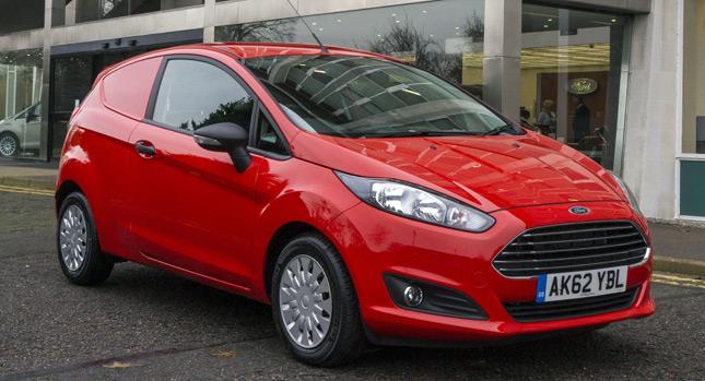 Ford Fiesta Van đã sẵn sàng để bán
