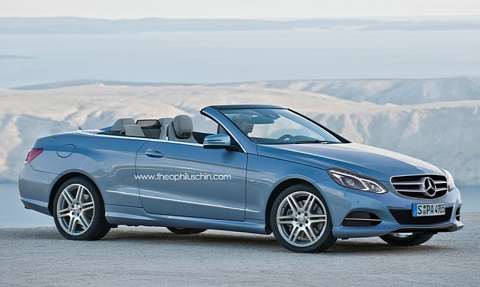 Lộ ảnh Mercedes E-Class Cabriolet 2014