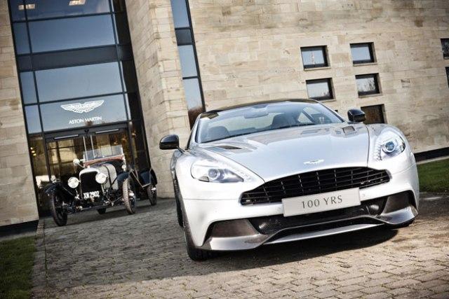 Aston Martin kỷ niệm 100 năm thành lập