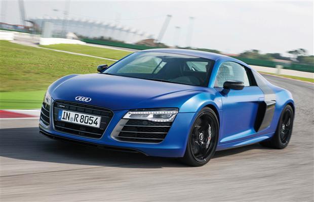 Audi R8 2014 sẽ trình làng tại triển lãm Detroit