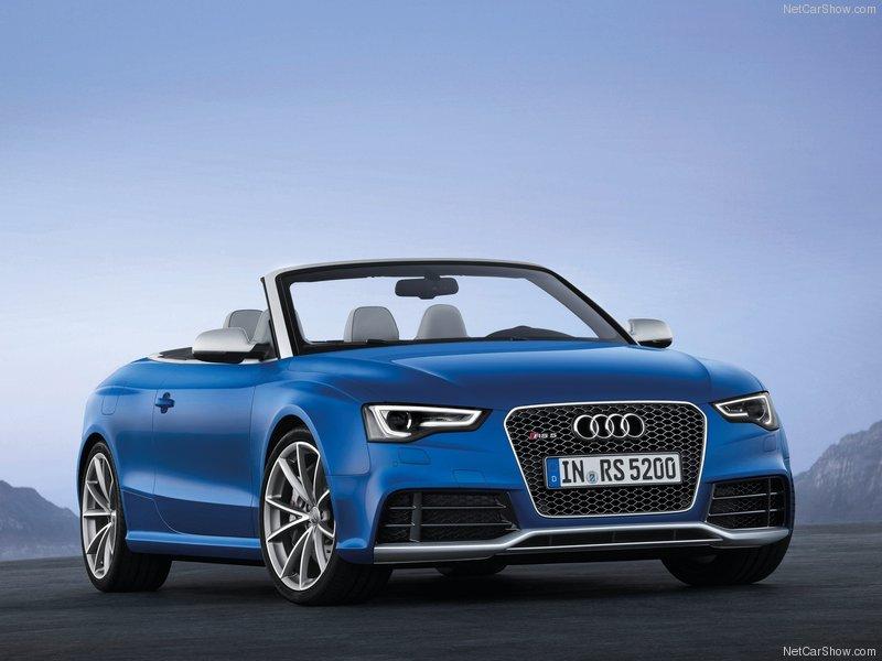 Audi RS 5 mui trần 2014 tiếp tục ra mắt công chúng