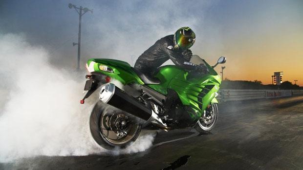 Kawasaki Ninja ZX-14R nhận danh hiệu xe máy của năm
