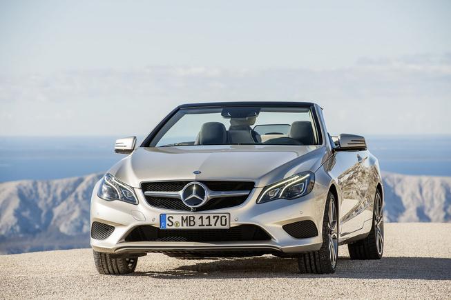 Mercedes-Benz trình làng E-Class Cabriolet 2014