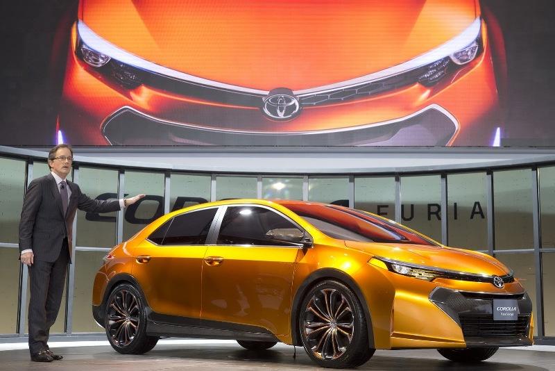 Chiêm ngưỡng tận mắt Toyota Corolla Furia Concept