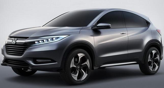 Honda SUV Concept lộ ảnh chính thức