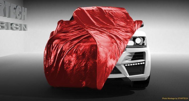 Lộ hình hình ảnh đầu tiên của Range Rover mới