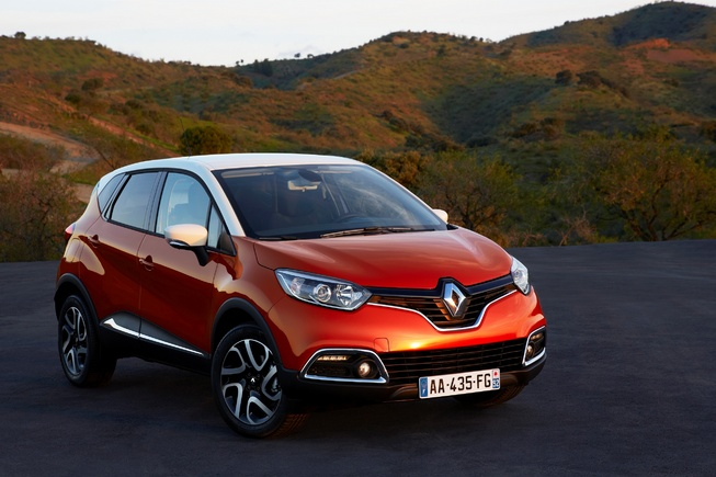 Renault sẽ vén màn Captur 2013 tại Geneva