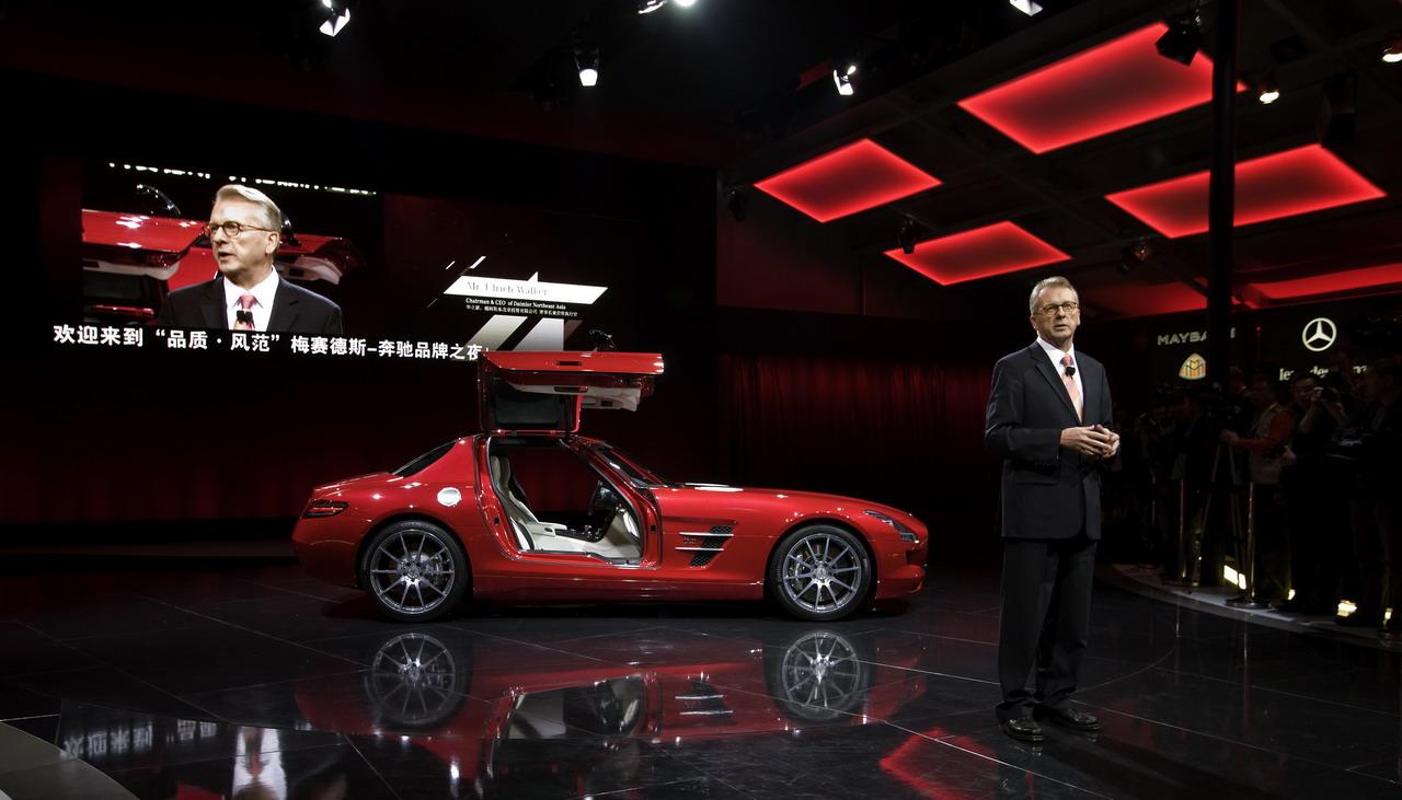 Trung Quốc sẽ sở hữu một phần Mercedes-Benz