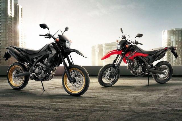 Cào cào đá Honda CRF250M ra mắt ở Thái Lan