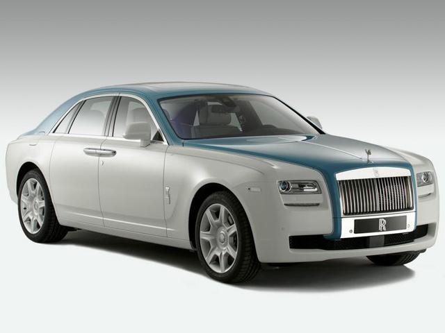 Rolls-Royce tiết lộ phiên bản đặc biệt Ghost Firnas Motif